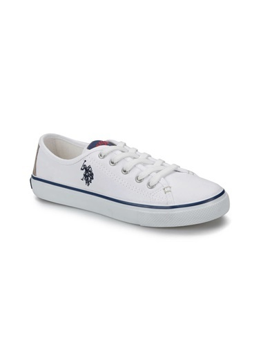 U.S. Polo Assn. U.S. Polo Assn. Beyaz Kadın Sneaker Beyaz